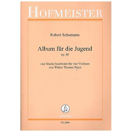 """Schumann, R.: Aus """"Album für die Jugend"""" Op. 68"""