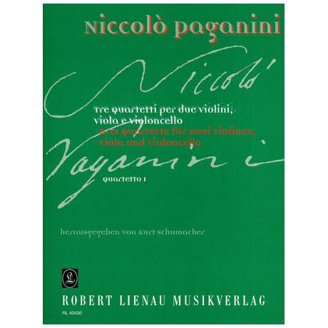 Paganini, N.: Quartett Nr.1
