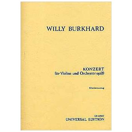 Burkhard, W.: Violinkonzert Op. 69 (1943)