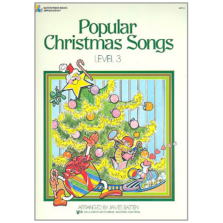 Bastien, J.: Popular Christmas Songs - Stufe 3