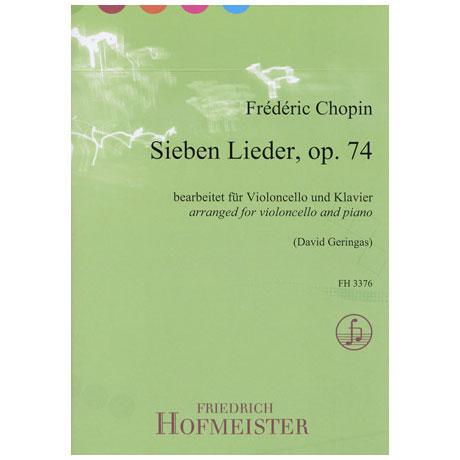 Chopin, F.: 7 Lieder Op. 74