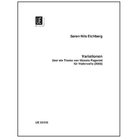 Eichberg, S. N.: Variationen über ein Thema von Niccolò Paganini