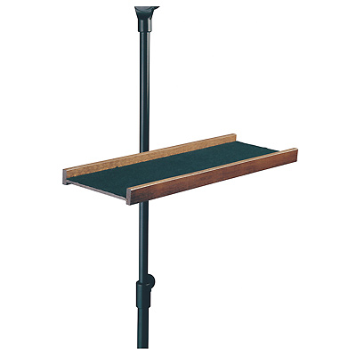 Music stand tray