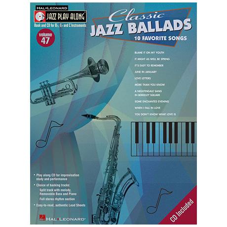 Classic Jazz Ballads (+CD)