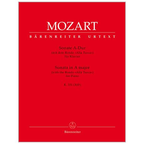 Mozart, W. A.: Sonate KV 331 (300i) A-Dur »alla turca«