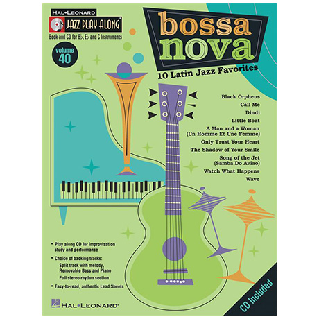 Bossa Nova – 10 Latin Jazz Favorites (+Online-Audio)