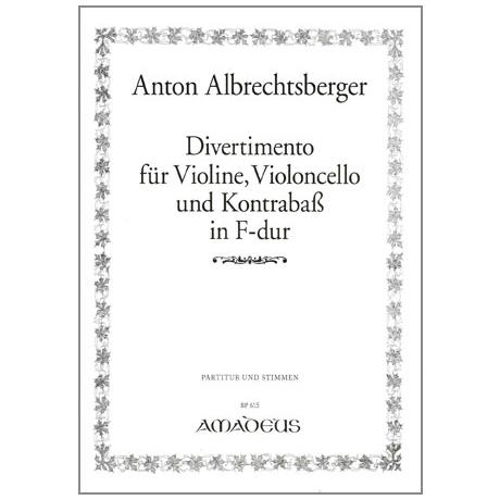 Albrechtsberger, A.: Divertimento F-Dur