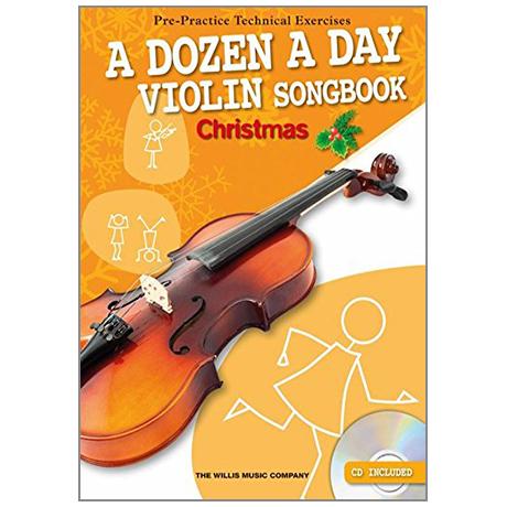 A Dozen A Day Songbook - Christmas (+CD)