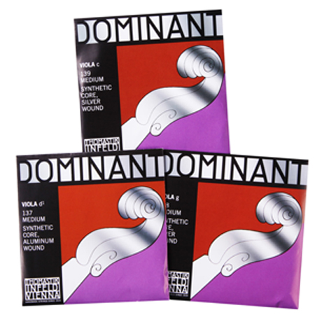 THOMASTIK Dominant viola strings D-G-C