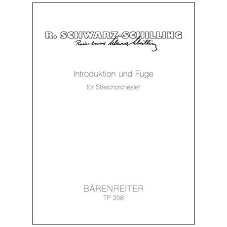 Schwarz-Schilling, R.: Introduktion und Fuge (1948)