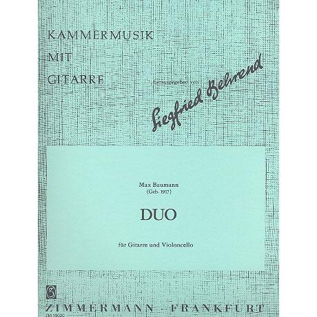 Baumann, M.: Duo Op. 62