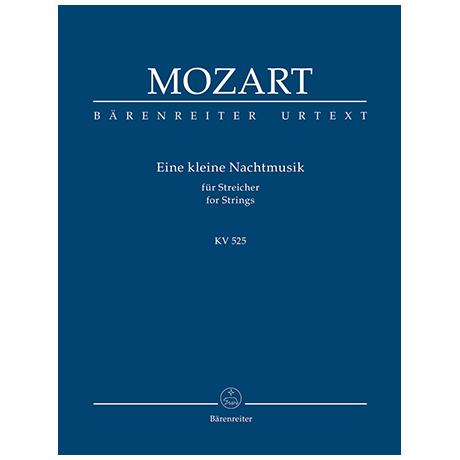 Mozart, W. A.: Eine kleine Nachtmusik für Streicher G-Dur KV 525