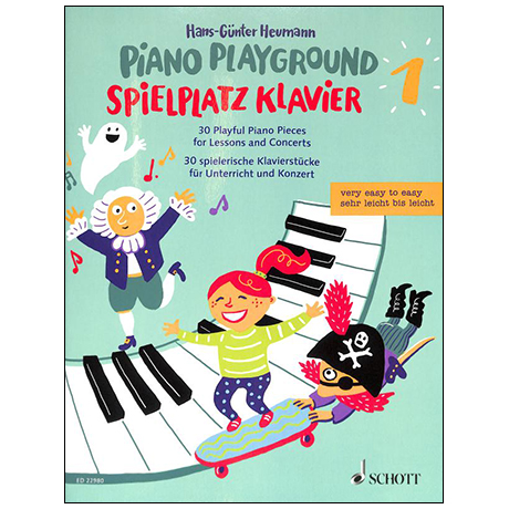 Heumann, H.-G.: Spielplatz Klavier Band 1