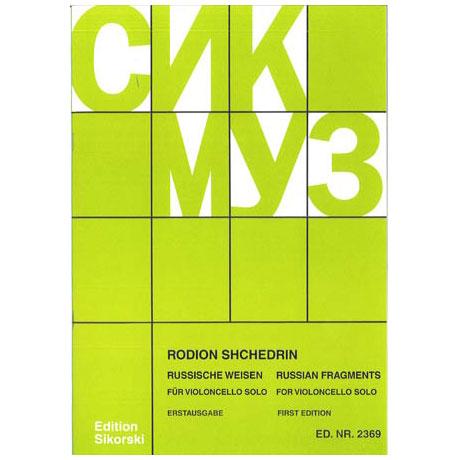 Shchedrin, R.: Russische Weisen