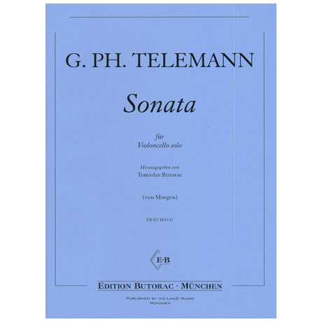 Telemann, G. Ph.: Violoncellosonate D-Dur