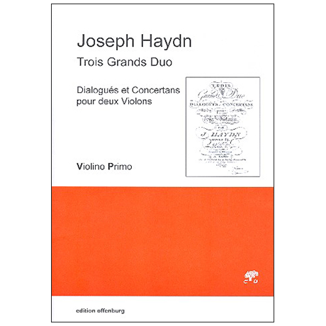 Haydn, J.: Trois Grands Duo