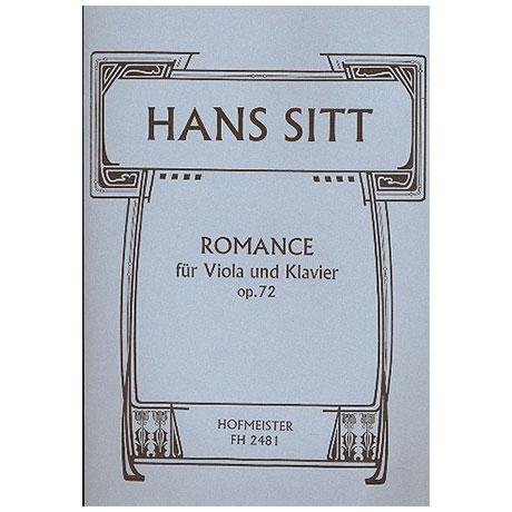 Sitt, H.: Romance Op. 72