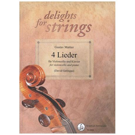 Mahler, G.: 4 Lieder