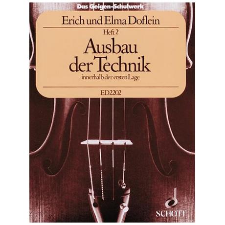 Doflein, E.: Das Geigen-Schulwerk Band 2