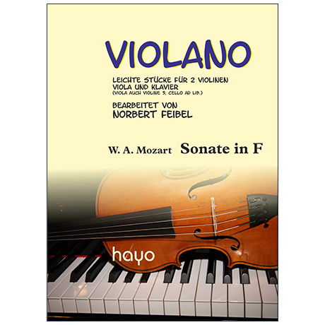 Mozart, W. A.: Sonate in F