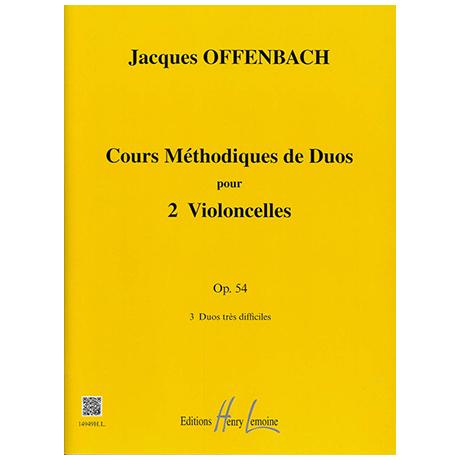 Offenbach, J.: Cours Méthodique Op. 54