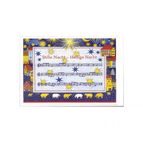 Greeting Card Silent Night