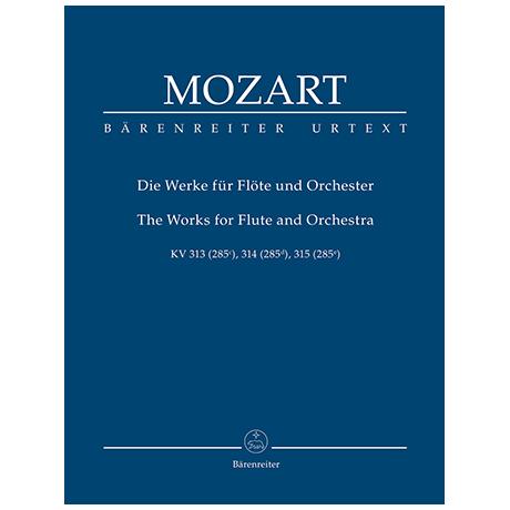 Mozart, W. A.: Die Werke für Flöte und Orchester