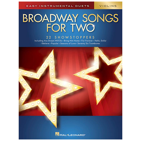Broadway Songs for Two Violins