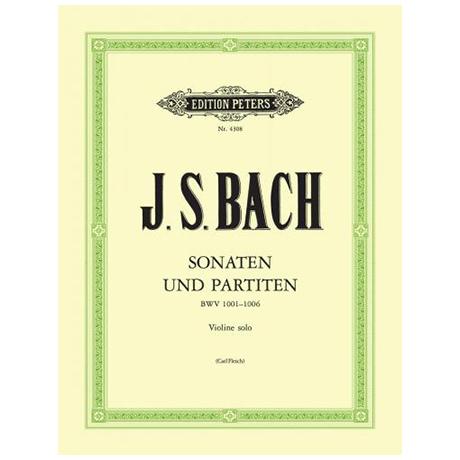 Bach, J. S.: 3 Sonaten und 3 Partiten BWV 1001-1006 (Flesch)