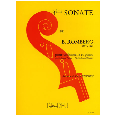 Romberg, B.: Sonate Op. 43 Nr. 3 G-Dur – 1. Satz