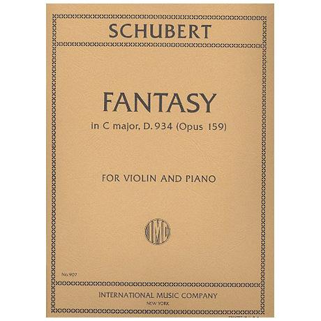 Schubert, F.: Fantasie Op. 159 C-Dur