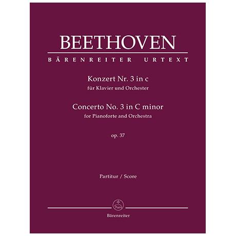 Beethoven, L. v.: Klavierkonzert Nr. 3 Op. 37 c-Moll
