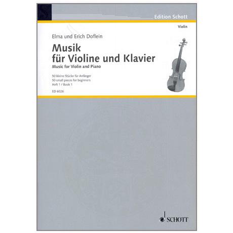 Musik für Violine und Klavier – Band 1