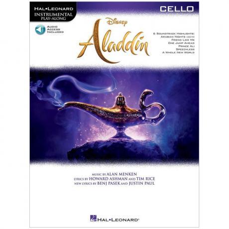 Aladdin for Cello (+Online Audio)