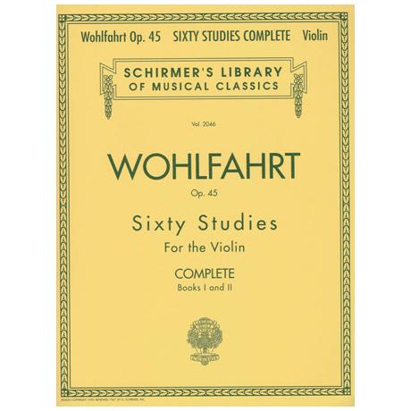 Wohlfahrt, F.: Sixty Studies Op. 45 Complete