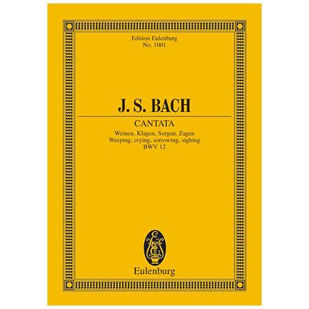 Bach, J. S.: Kantate BWV 12 »Dominica Jubilate«