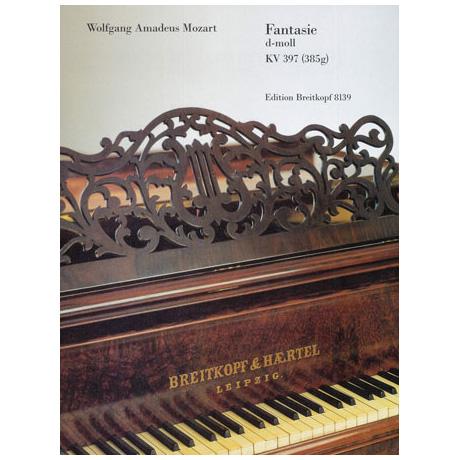 Mozart, W. A.: Fantasie d-Moll KV 397 (385g)