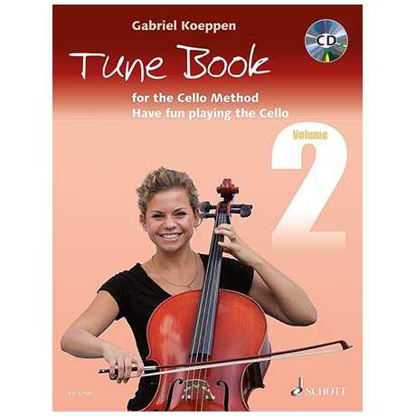 Koeppen, G.: Cello Method Tune Book 2 (+CD)