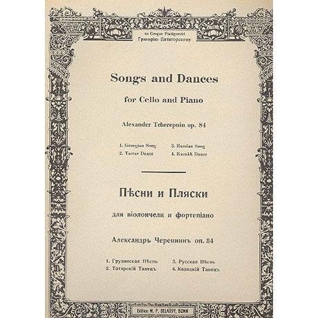 Tcherepnin, A. N.: Lieder und Tänze Op. 84