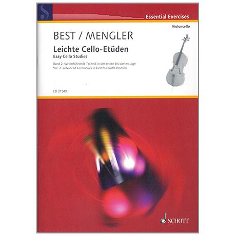 Best, H. / Mengler, W.: Easy Cello Studies Vol.2