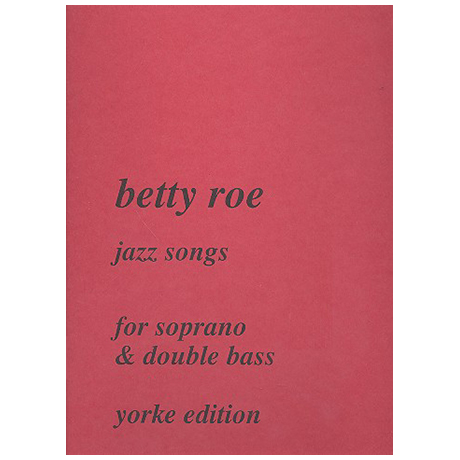 Roe, B.: Jazz-Songs
