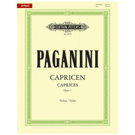 Paganini, N.: 24 Capricen Op. 1