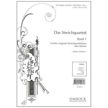 Das Streichquartett Band 1
