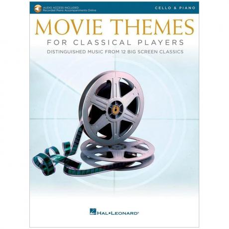 Movie Themes for Classical Cello Players (+Online Audio)