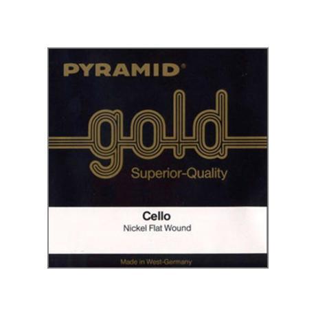 PYRAMID Gold cello string A