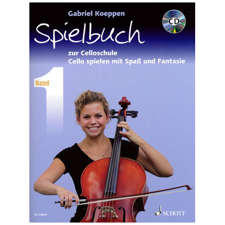 Koeppen, G.: Cello spielen mit Spaß und Fantasie (+CD) - Spielbuch