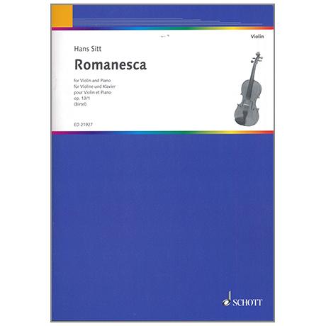 Sitt, H.: Romanesca, Op. 13/1