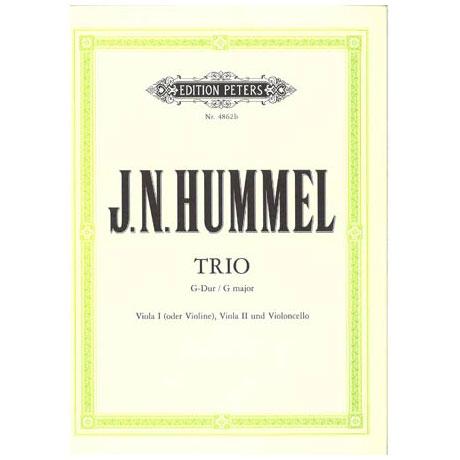 Hummel, J. N.: Streichtrio Nr. 2 G-Dur