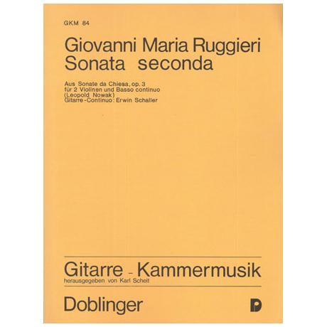 Ruggieri, G. M.: Sonata seconda h-Moll Op. 3