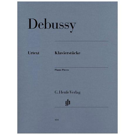 Debussy, C.: Klavierstücke